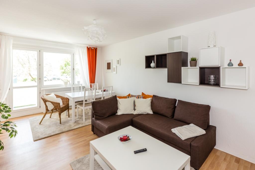 neue musterwohnung in rostock grand city property gcp wohnungssuche mietwohnung wohnung. Black Bedroom Furniture Sets. Home Design Ideas