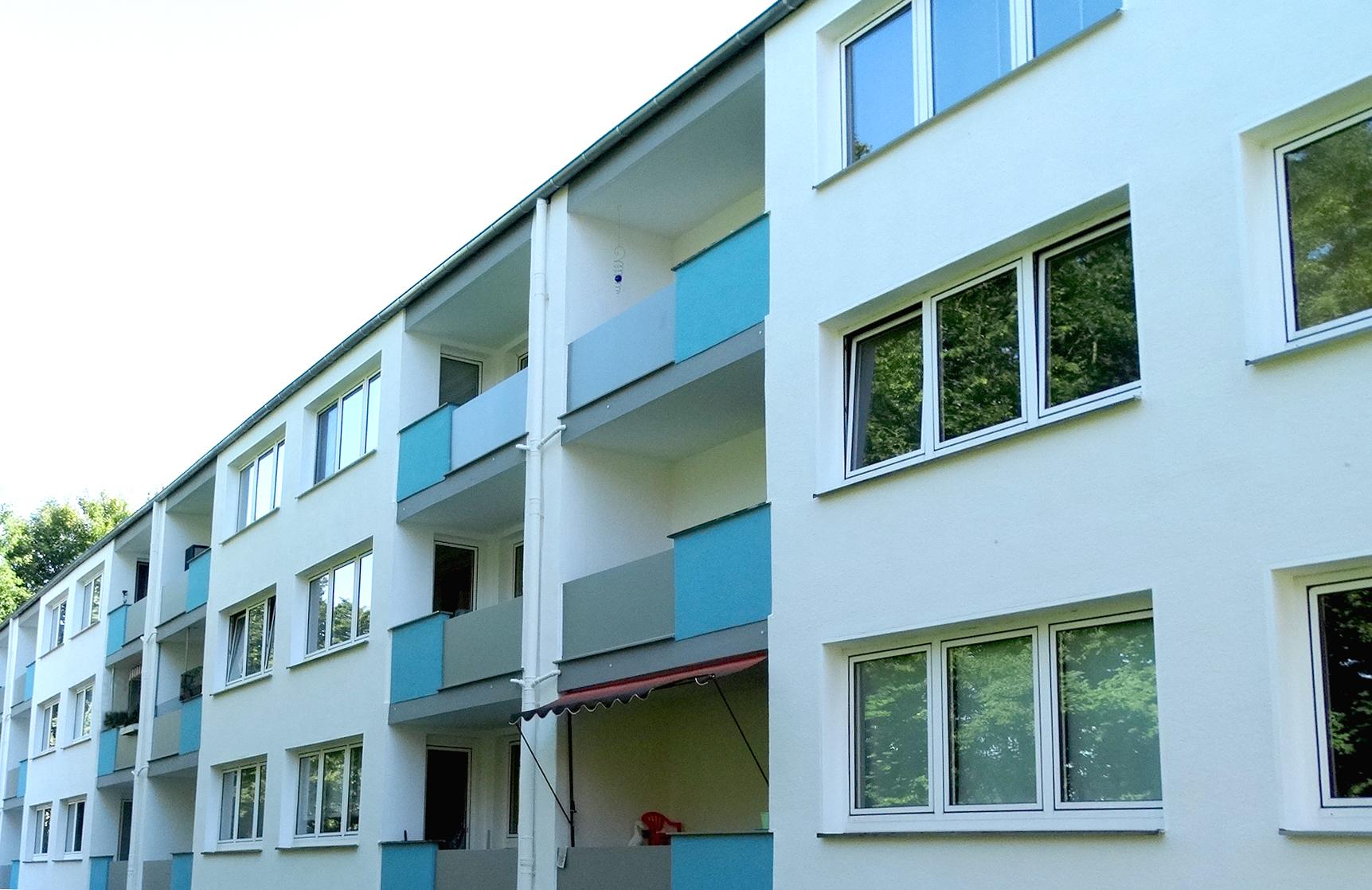 frische farbe f r fassade in recklinghausen grand city property gcp wohnungssuche. Black Bedroom Furniture Sets. Home Design Ideas