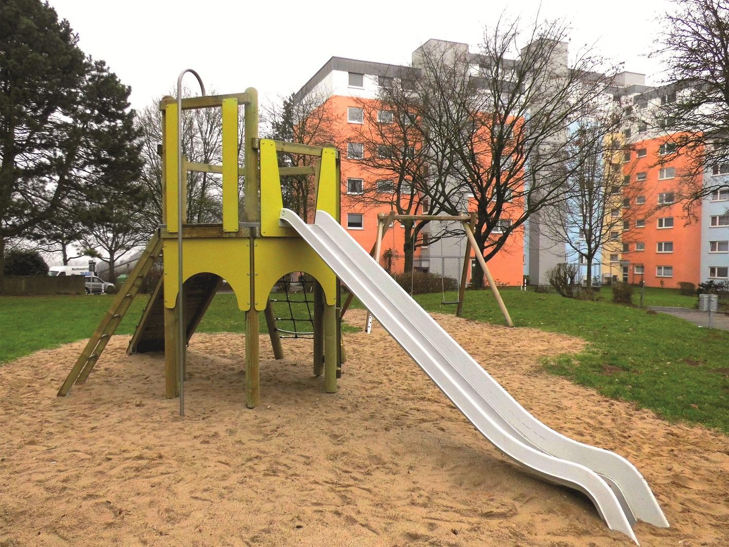 Klettergerüst Wohnung : Spielplatzbau in wuppertal vohwinkel abgeschlossen grand city
